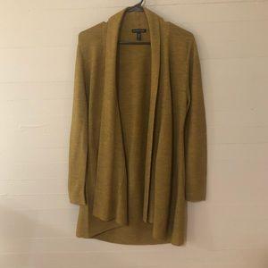 Eileen Fisher Italian Merino Wool Duster Cardigan
